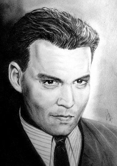 Johnny Depp por bashya